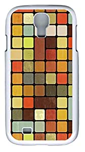 samsung galaxy s4 case,custom samsung galaxy s4 i9500 case,TPU Material,Drop Protection,Shock Absorbent,Customize your own cell phone case pattern,white case, Plaid background