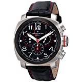 Christian Van Sant Men's CV3AU1 Grand Python Analog Display Swiss Quartz Black Watch