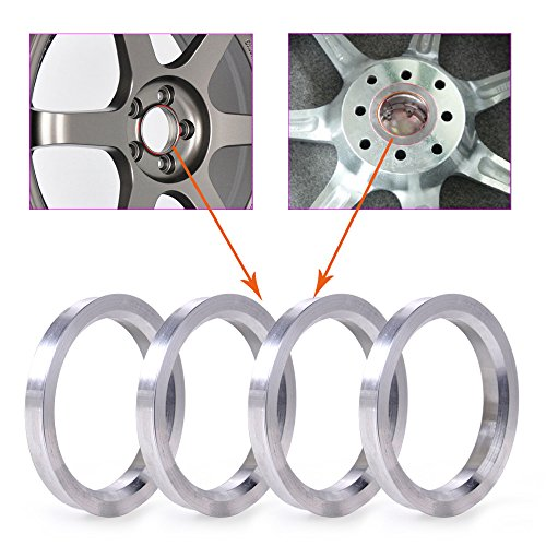 ZHTEAP 4pc Wheel Hub Centric Rings 78.1 to 108 OD=108mm ID=78.1mm - Aluminium Alloy Wheel Hubrings for Most Chevy GMC by ZHTEAP (Image #1)