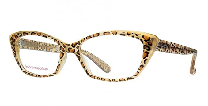 Lafont Honey Eyeglasses Color 380 Panther Size 53 MM at Amazon ...