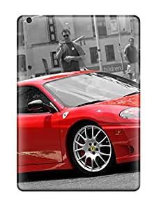 Fashion Tpu Case For Ipad Air- Awesome Ferrari Background Defender Case Cover