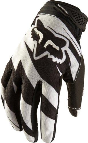 Fox Dirtpaw Costa Gentlemen white/black (Size: XXL (12)) Full finger gloves