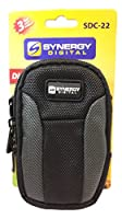 Nikon Coolpix S7000 Digital Camera Case Medium Point & Shoot Digital Camera Case, Black / Grey - Replacement by Synergy by Dynamic Power