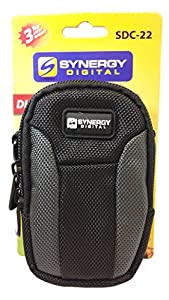 Canon PowerShot D30 Digital Camera Case Medium Point & Shoot Digital Camera Case, Black / Grey - Replacement by Synergy from Dynamic Power