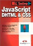 JavaScript, DHTML CSS