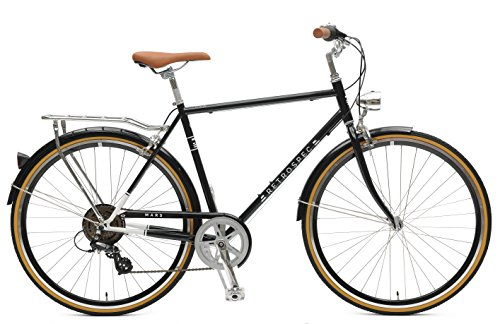 Retrospec Mars Hybrid City Commuter Bike, Black, 7-Speed / 50cm, s
