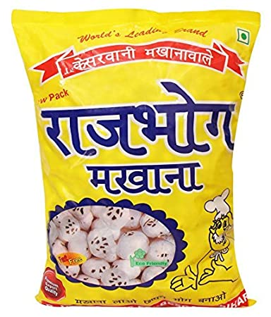 Amazon Com Phool Makhana Lotus Seeds Pop Fox Nut 250g X