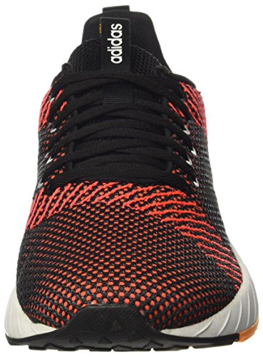 adidas Questar BYD, Sneakers Basses Homme Multicolore (Core Black/Footwear White/Solar Red 0)