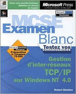 GESTION D'INTER-RESEAUX TCP/IP SUR WINDOWS NT 4 0 (1Cédérom