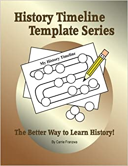 amazon com history timeline template series the better way to