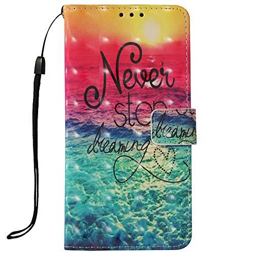 LG Aristo 2 Case,LG Tribute Dynasty Case,LG K8 2018 Case,LG Zone 4 Case, LG Aristo 2 Plus Case,LG Fortune 2 Case,Voanice Wallet Kickstand Card Cash Slots Wrist Strap PU Leather Flip Cover&Stylus-Never