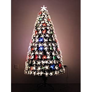 HOLIDAY STUFF LED Fiber Optic Christmas Tree 34