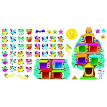 Trend Enterprises Owl-Stars! Job Chart Bulletin Board Set (T-8360)