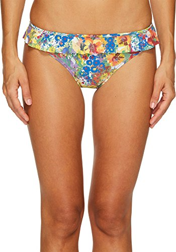 Stella McCartney Women's Iconic Prints Classic Bikini Bottom Floral Print - Stella Mccartney Shop