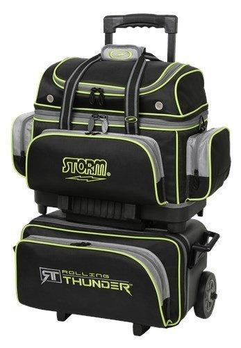 Storm Rolling Thunder 4 Ball Bag Black/Grey/Lime