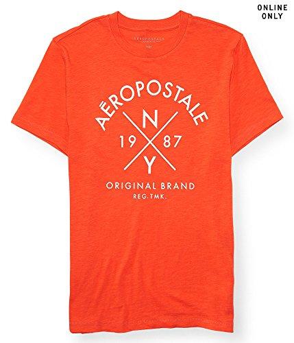 aeropostale-mens-aero-ny-crossing-graphic-t-shirt-m-coral-kick