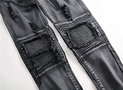 Cerniera Maschi Met Jeans Locomotiva Ginocchio Versaces 4fpZqf