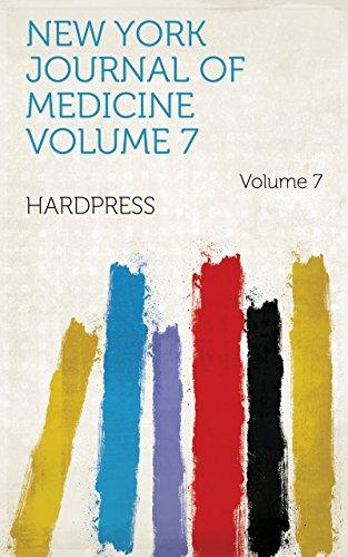 New York journal of medicine Volume 7