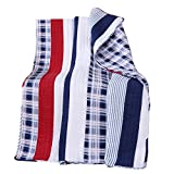 Greenland Home Quilted Throw, Nautical Stripe