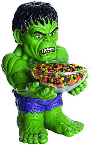 Super Hero Anti Hero Villain Candy Bowl Holder - Hulk (Hulk Candy Bowl Holder)