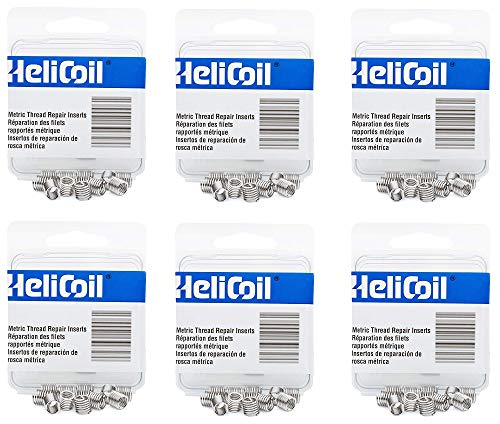 Heli-Coil R10846 M6X1 Inserts (6) by Heli-Coil (Image #1)