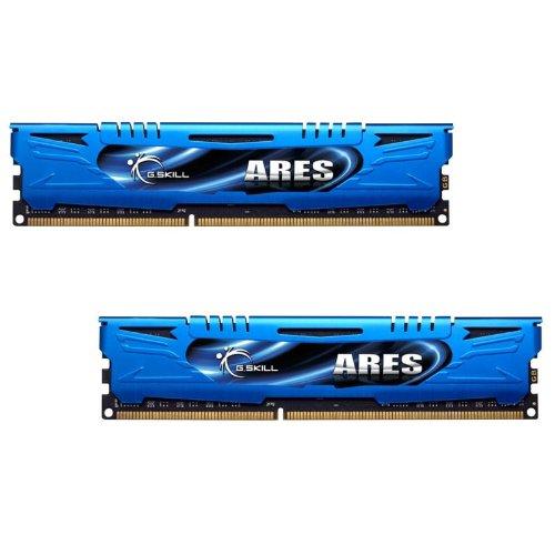 (G.SKILL F3-1866C9D-8GAB Ares Series 8GB (2 x 4GB) 240-Pin DDR3 SDRAM  1866MHz (PC3 14900) Desktop Memory)