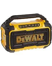 DEWALT 20V Max Bluetooth Jobsite Speaker (DCR010), Yellow/Black