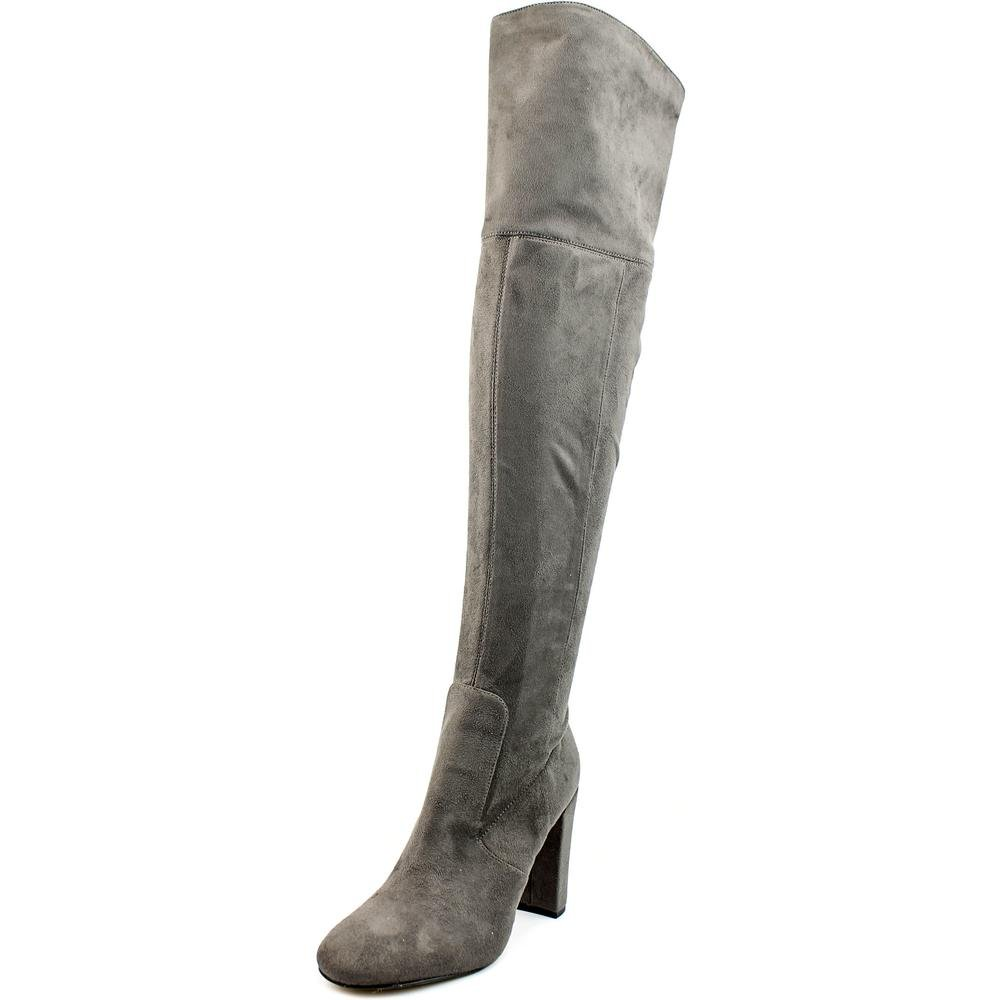 Ivanka Trump Rylee Rear Zip Over The Knee Boots, Dark Gray, 8.5 US