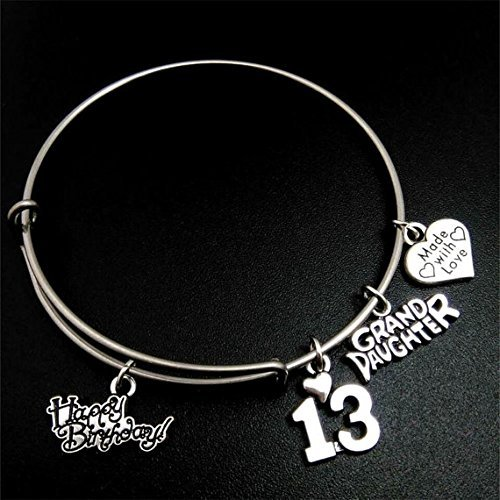 her birthday gifts ideas adjustable expandable b charm fashion perfect gift for bracelet bangle