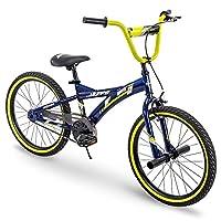 Huffy Kids Bike for Boys, Ignyte 20 inch Yellow & Blue