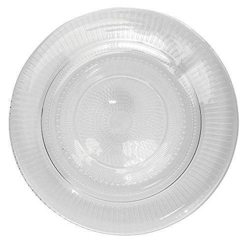 Arcoroc Louison Clear Glass Dessert Plate by Arc Cardinal - 7 1/2 Dia by CARDINAL GLASSWARE (Image #1)