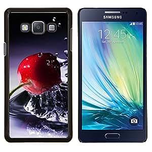 LECELL--Funda protectora / Cubierta / Piel For Samsung Galaxy A7 A7000 -- Naturaleza Hermosa Forrest Verde 119 --