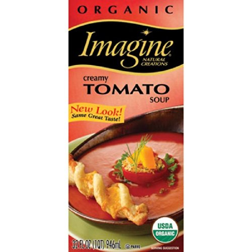Imagine Organic Soup, Creamy Tomato, 32 Ounce (Packaging May Vary) (Vine Soup Tomato)
