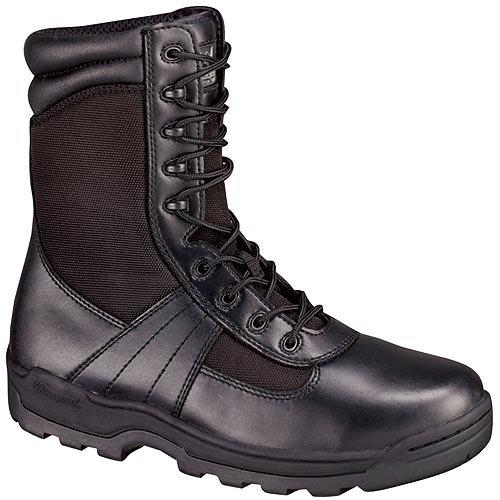 メンズThorogood 8インチLace – Upブーツ B001Y8T1AM 13 D(M) US|ブラック ブラック 13 D(M) US