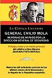 img - for General Emilio Mola: Memorias de Mi Paso Por La Direccion General de Seguridad, Coleccion La Critica Literaria Por El Celebre Critico Liter (Spanish Edition) book / textbook / text book