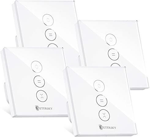 【LED Controlable】WiFi Interruptor Persiana, Etersky Interruptor Inteligente, Control por APP ...