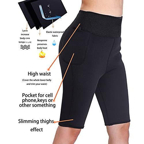 37a1857ab91 Best Women Weight Loss Pants Neoprene Exercise Leggings Sauna Suit Body  Shaper Hot Sweat Thermo Slimming
