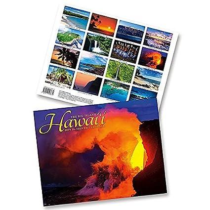 February 2020 Book It Calendar Amazon.: Hawaii the Big Island, 2019 16 Month Trade Calendar