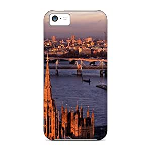 New FloZq6233eHAHM London Eye Big Ben Tpu Cover Case For Iphone 5c