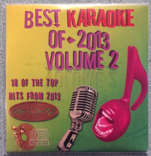 Best Of Karaoke 2013 Volume 2 CD+Graphics CDG 18 Pop & Country Tracks Fun Pitbull Paramore Fall Out Boy Demi Lavato Rihanna Toby Keith Luke Bryan Chris Young The Mavericks Darius Rucker