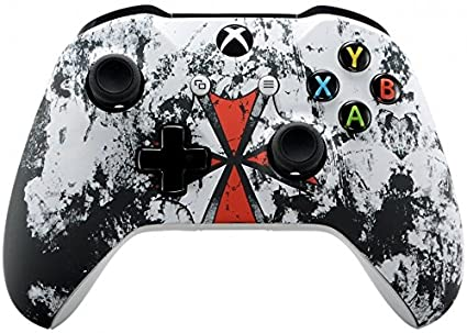 Xbox One Wireless Controller for Microsoft Xbox One - Custom Soft Touch  Feel - Custom Xbox One Controller (Resident Evil)