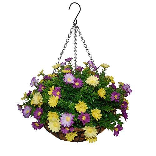 12-inch Large Flower Pot Hanging Basket , Indoor or Outdoor Use