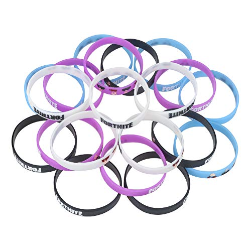 20 Pack Themed Bracelets,Birthday Party Supplies Favors