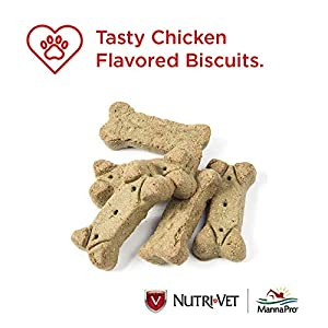 Nutri-Vet Grass Guard Max Biscuits for Dogs, 19.5 count