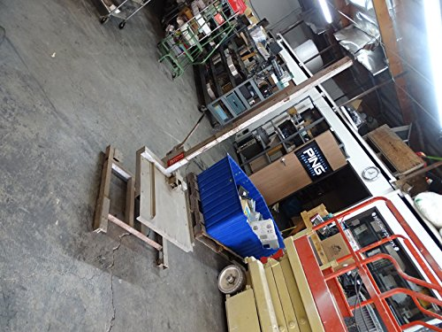 Vermette Hi-Jack Model A-1 HVAC Box Carton Lift, 500 LBS cap, on wheels from Vermette