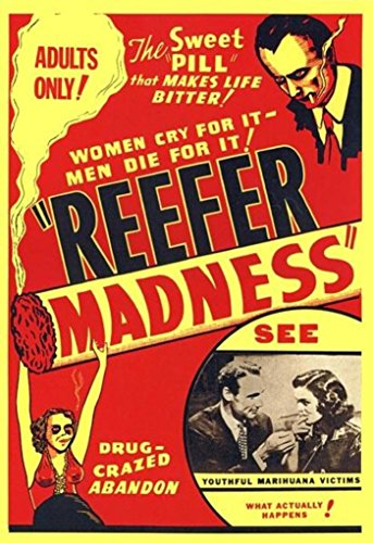 Reefer Madness 1936 Movie Poster Print