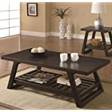 Coaster Home Furnishings 701868 Casual Coffee Table Cappuccino