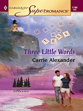 book cover of Three Little Words