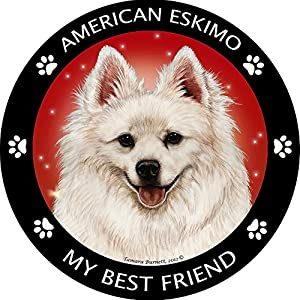 Pet Gifts USA American Eskimo My Best Friend Magnet 36