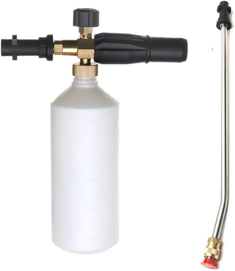 Slider - Lanza de espuma de 1 l para lavado a presión y pulverizador en ángulo para Karcher K-Series
